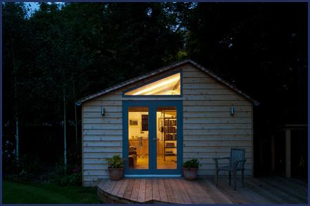 bespoke garden room by csj