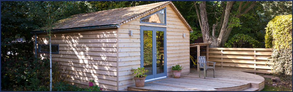 Bespoke garden rooms to suit any space csj central for Bespoke garden rooms