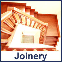 internal joinery work