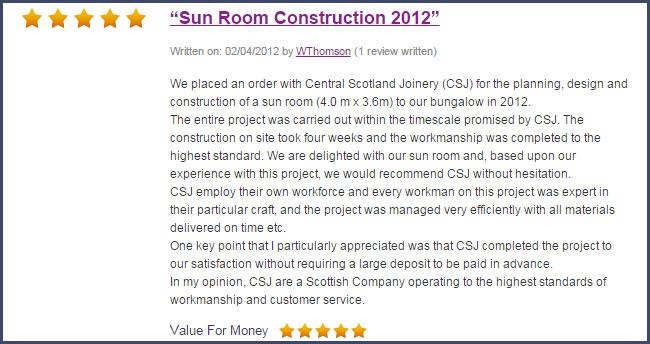 CSJ Sunroom Review
