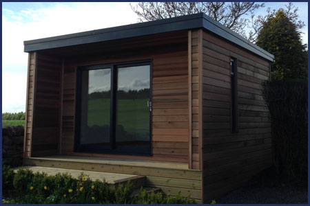 Bespoke garden rooms to suit any space csj central for Prefabricated garden rooms