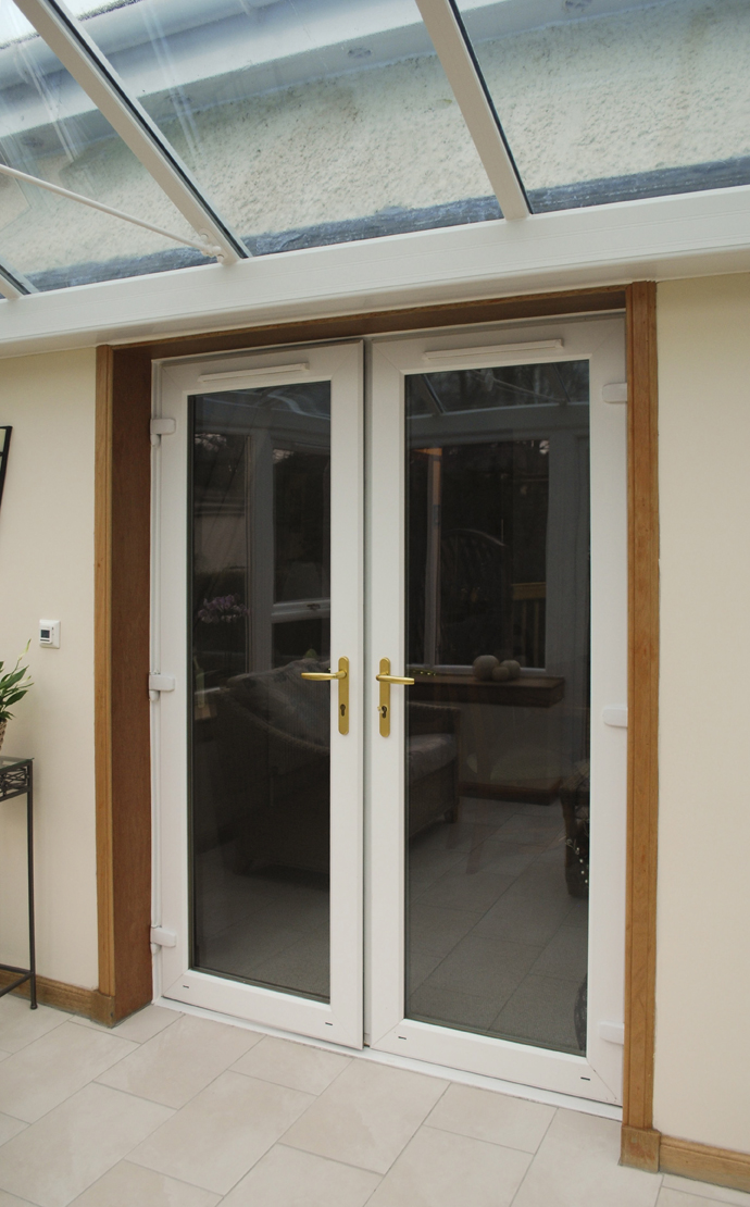 Upvc timber conservatories csj central scotland joinery for Upvc french doors scotland